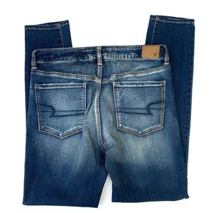 American Eagle Outfitters Jeans - American Eagle Lightwash Super Stretch Skinny Jean